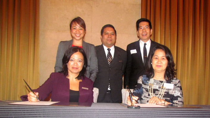 PCAAE, Marriott Manila sign partnership memo