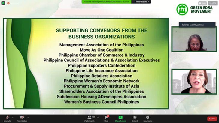 PCAAE, members join Green EDSA Movement