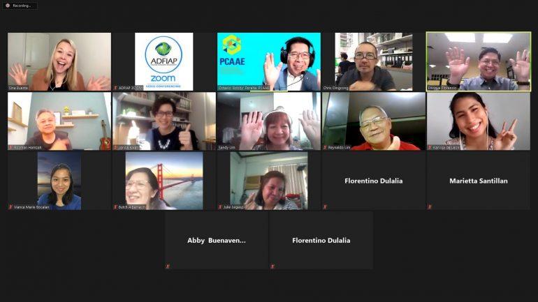 PCAAE runs webinar on hybrid and virtual events
